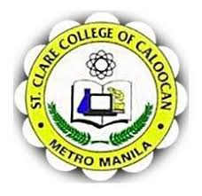 St clare college of caloocan logo