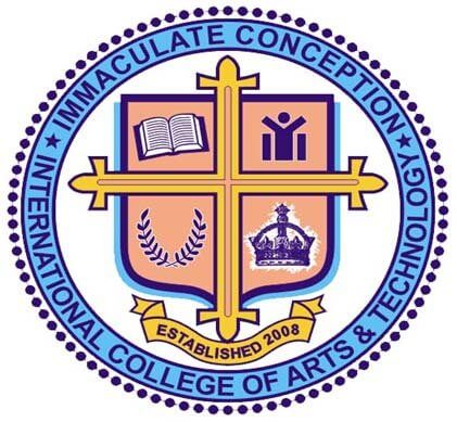Immaculate Conception International College of Arts and Technology Sta. Maria Campus Logo