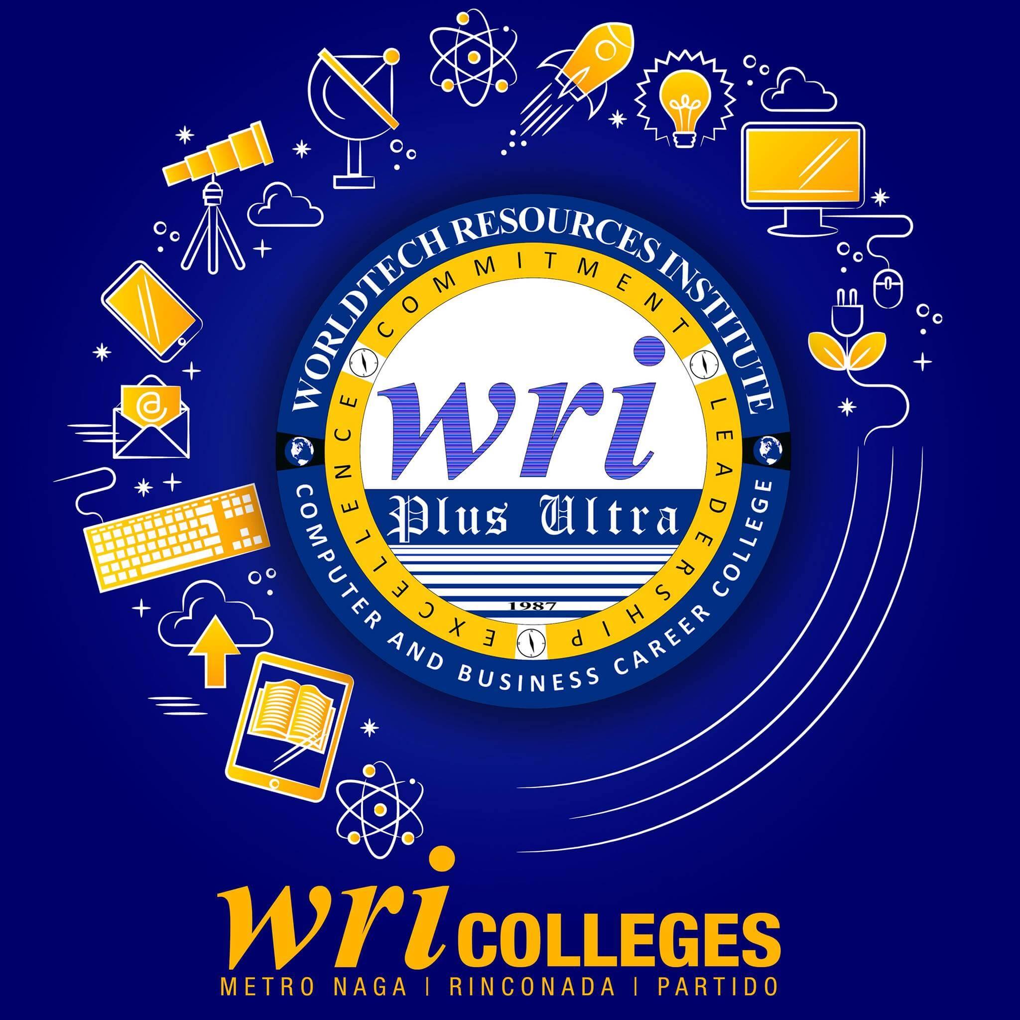 Wri computer college logo