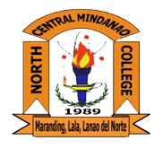 North central mindanao college logo