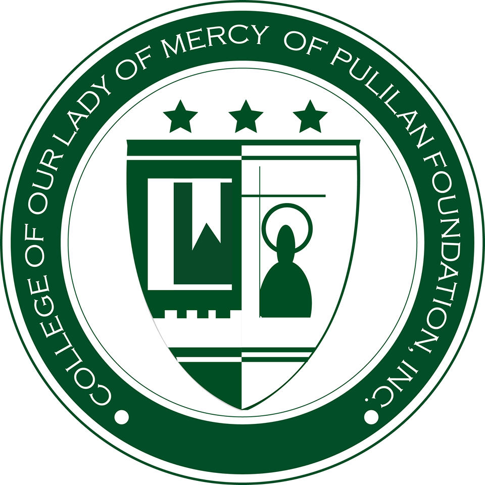 College of Our Lady of Mercy of Pulilan Foundation, Inc. Logo