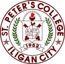 St peters college iligan logo