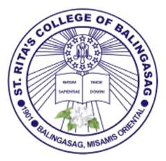 St ritas college of balingasag logo