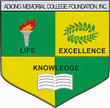 Adiong Memorial College Foundation Logo