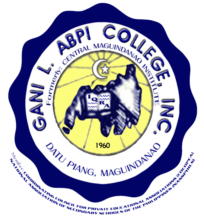 Gani L. Abpi Colleges Logo