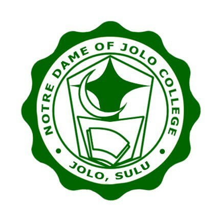 Notre dame of jolo college logo
