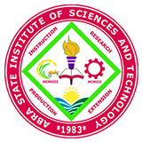 Abra state institute of science and technology main logo