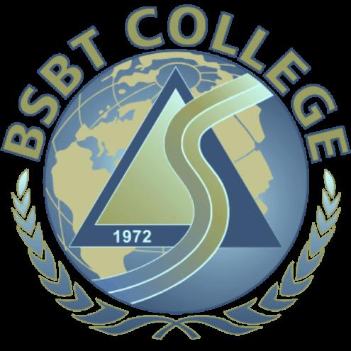 Bsbt logo 3d globe