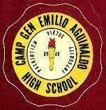 Camp General E. Aguinaldo High School Logo