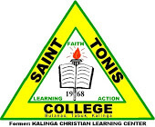 Saint Tonis College, Inc. Logo