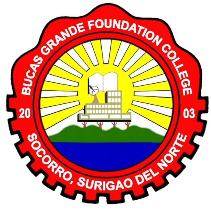 Bucas grande foundation college logo