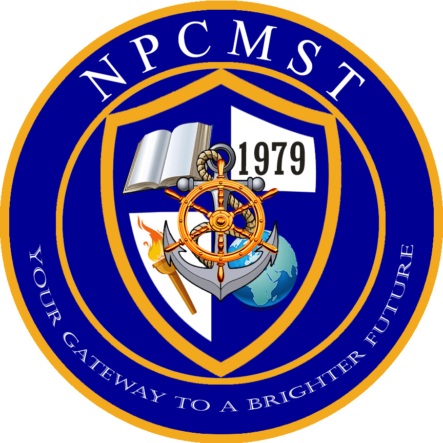Northern philippines college of maritime science and technology logo