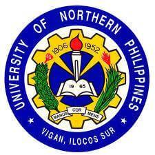 University of northern philippines vigan logo