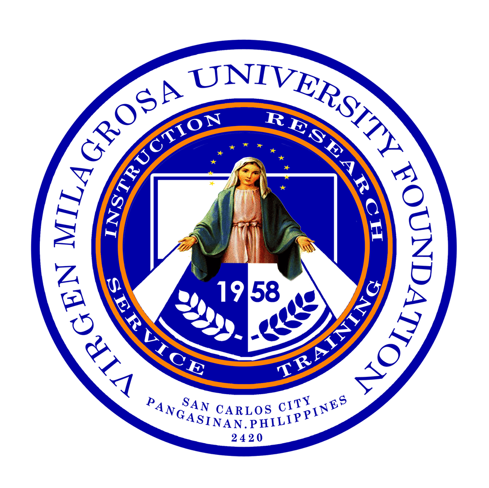 Virgen Milagrosa University Foundation Logo