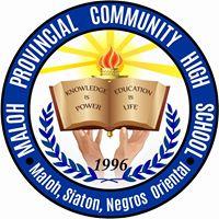 Maloh Provincial Community High School Logo