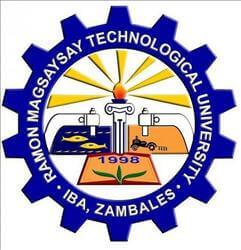 Ramon magsaysay technological university sta cruz campus logo